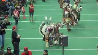 Golden Leaf Powwow 2017 Sr. Mens Trad. ft. Nathan Chasinghorse 2