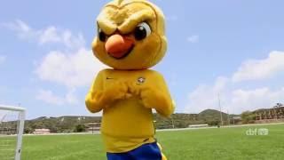 Conheça Canarinho, o mascote da Seleção Brasileira