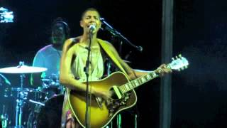 AYO IN ANGOLA SINGING LIFE IS REAL LIVE IN LUANDA - NEW EVES 2011