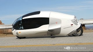 MonoTracer Enclosed Motorcycle, Sport Bikes - Mulholland Riders 12/2014