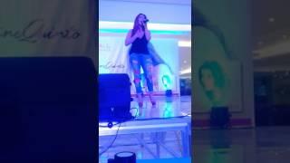 Angeline live at vista mall pampanga nanghihinayang