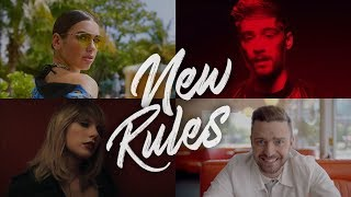 New Rules (The Megamix) - Zayn · J.Bieber · A.Grande ·  S.Gomez (T10MO)