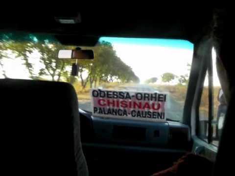 From Chisinau to Odessa by Minibus キシナウからオデッサまで