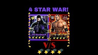 "WWE CHAMPION'S - UNDERTAKER ""THE DEADMAN"" 4 STAR VS BATISTA 4 STAR GAMEPLAY!"