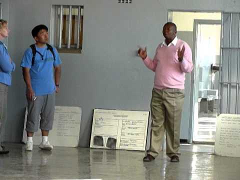 Ancien detenu de l'ANC de la prison de Robben Island