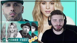 Perro Fiel - Shakira Ft. Nicky Jam (Audio Oficial) REACTION!!