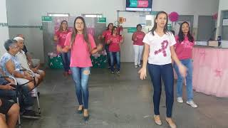 Outubro Rosa 2017 Usafa Samambaia - Despacito Luís Fonci, versão Gisele Domingos e Erica Dias