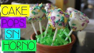 Cake Pops SIN HORNO!