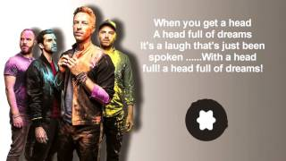 coldplay  A Head Full Of Dreams lyrics  2016 2017