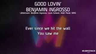 """Benjamin Ingrosso - """"Good Lovin'"""""""