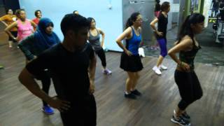 Zumba Fitness Malaysia : Choka Choka (Crossfire) by ZIN Sasa