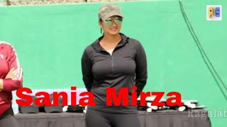 Sania Mirza hot in Hyderabad|Tennis Academy opening width=