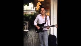 Fausto Serra - Improvvisazione live Giardini Orselli - Forlì