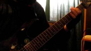 Moi Dix Mois - Metaphysical guitar cover
