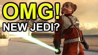 NIEN NUNB IS A JEDI? *Glitch* - Star Wars Battlefront
