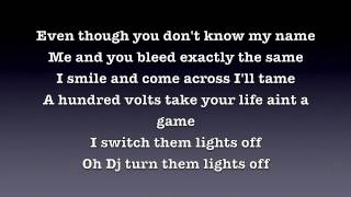 Lights On-Wiley feat Angel & Tinchy Stryder LYRICS