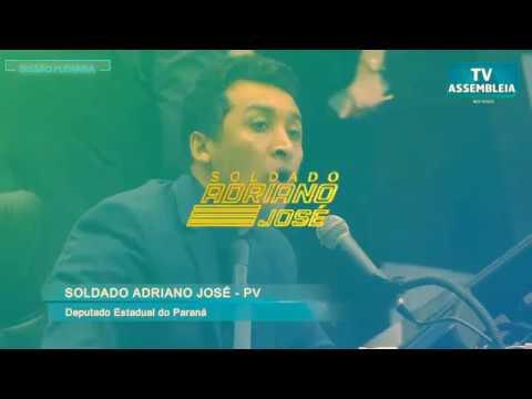 Deputado Estadual Soldado Adriano José grava vídeo de Repúdio a Coronel
