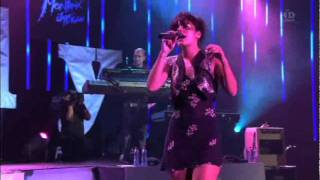 Lily Allen - Everything's just wonderful (Live) - Montreux Jazz Festival 2009