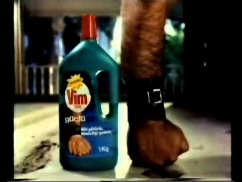 Eski Vim Temizlik Reklamı - (eskireklamlar.com)