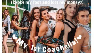 Broke my foot at My First Coachella  | Kalani Hilliker