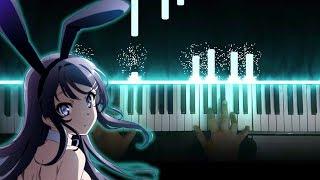 """Seishun Buta Yarou wa Bunny Girl Senpai no Yume wo Minai ED - """"Fukashigi no Carte"""" (Piano)"""