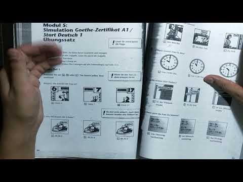 Goethe institut a1 german test