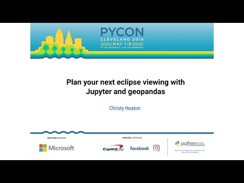 Plan your next eclipse viewing with Jupyter and geopandas
