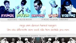History - Blue Moon [Legendado PT/BR + Rom + Colored Lyrics]