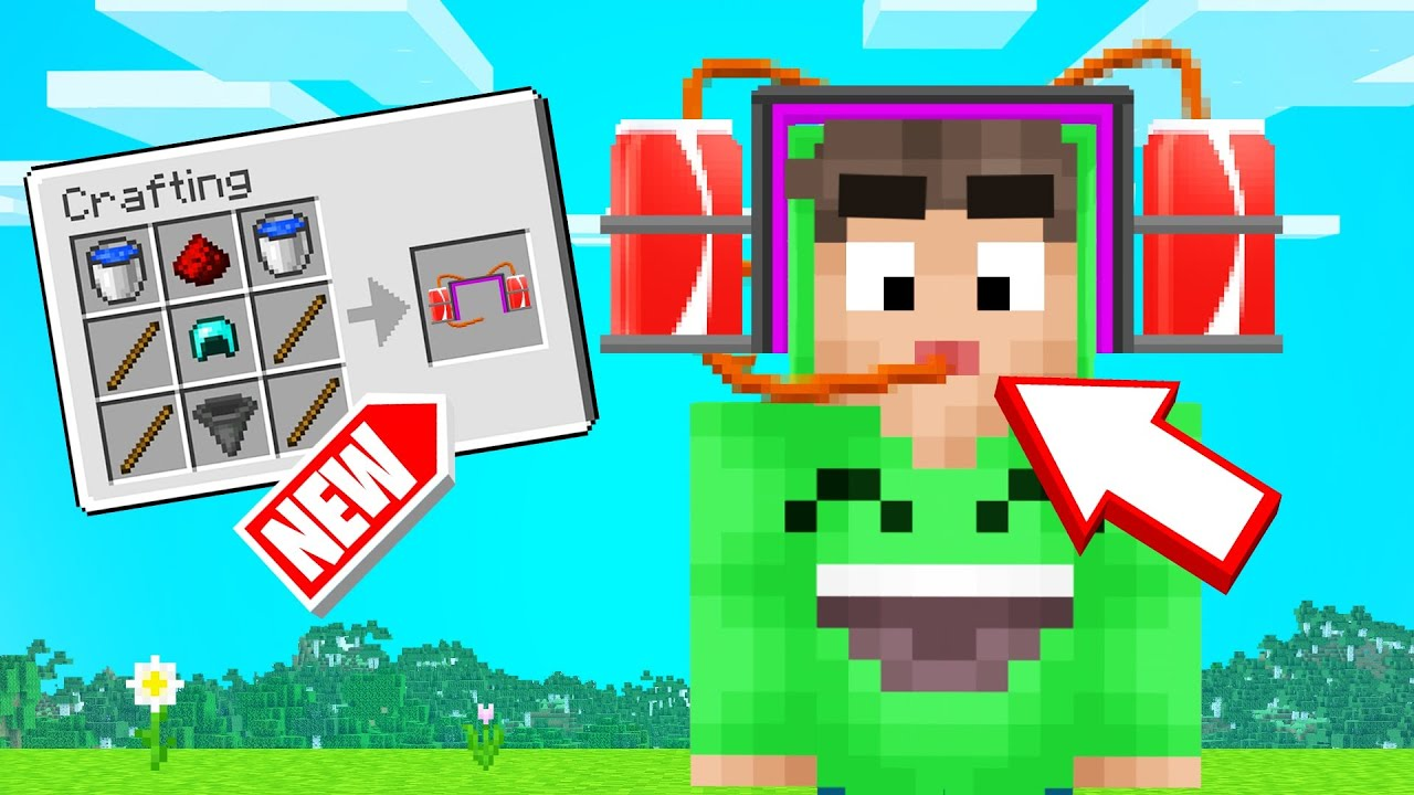 Jelly - MINECRAFT But We CRAFTED WEIRD ITEMS! (Dumb)