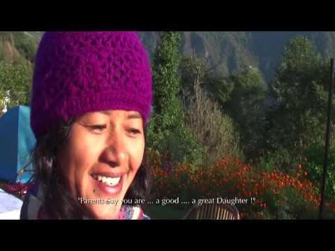 Hira Malla Walks in Fields of Gold