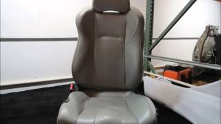 Nissan 350Z Custom Leather Seat Covers