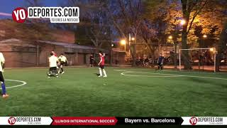 Bayern Munchen vs Barcelona Illinois International Soccer Pottawattomie Park