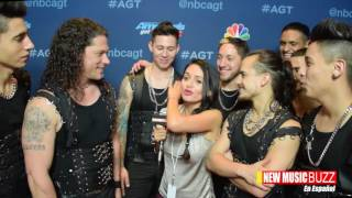 "Malevo  ""Americas Got Talent' Quarter Finals BACKSTAGE in Spanish"