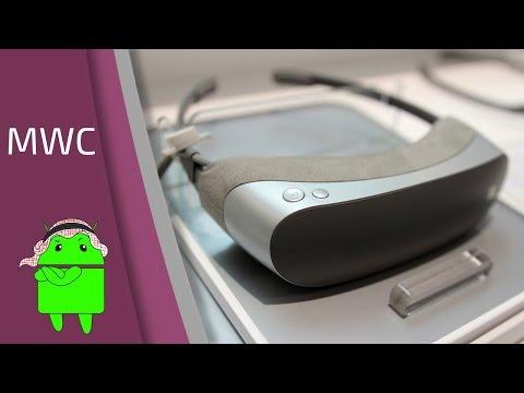 نظره أولى على نظارات الواقع الإفتراضي 360 VR من إل جي