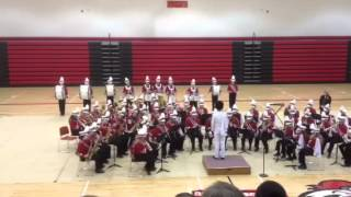 Ord jr high school band Funky Town