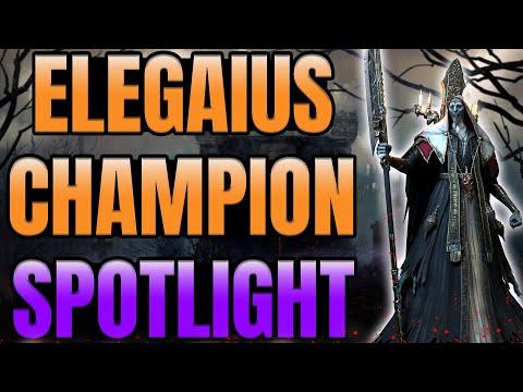 Champion Spotlight: Elegaius I Raid Shadow Legends