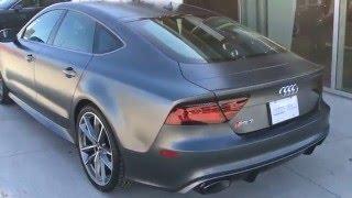 2016 Audi RS7 Performance - 605 horsepower! - Just Arrived at Audi Winnipeg!
