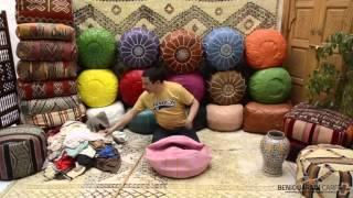 How stuff moroccan ottoman pouf - Stuffing pouf guide