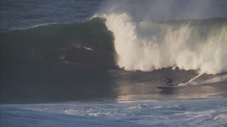 Justine Dupont /Big waves surfing/ La Vaca XXL 2017