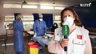 Nouveaux variants de SARS-CoV-2: Lancement de l'opération de dépistage à Temara