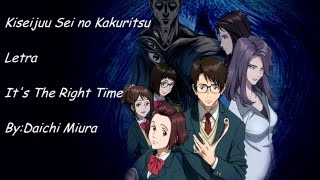 Kiseijuu Sei No Kakuritsu - ED「It's The Right Time」-Legendado PT-BR