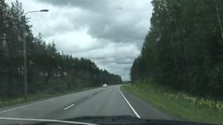 Timelapse Pohjanmaanväylä Härmä - Kauhava