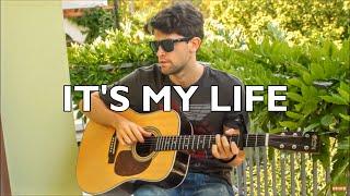 It's My Life - Bon Jovi (INSTRUMENTAL Fingerstyle guitar cover) [+ TABS]