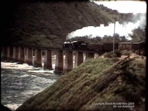 Vintage George-Knysna-Oudshoorn steam trains (South Africa).wmv