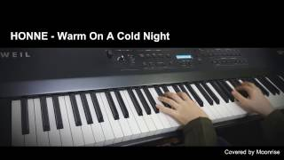 'HONNE - Warm On A Cold Night' (시몬스침대 광고음악) Piano Cover
