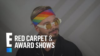 """J Balvin Promises """"Fire"""" at 2017 MTV Movie Awards 