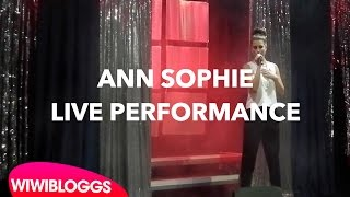 Live: Ann Sophie covers The Makemakes' I Am Yours (Eurovision Weekend Berlin) | wiwibloggs