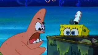 YTP: Sandy fights clams while Spongebob's in Hell