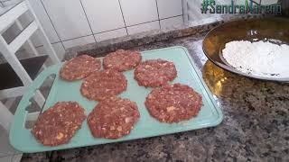 Como fazer hambúrguer caseiro receita simples com passo a passo
