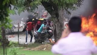 Panchkula Violence : Baba Gurmeet Ram Rahim Supporters Dera Sacha Sauda Followers Turn Violent